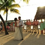 Atlantic Bay Resort Beautiful Beach Morning Sunrise Front Tropical Area Wedding Photo. Book with us DIRECTLY and SAVE.